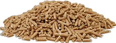 ATMOS Zentrallager liefert Brennstoffe - Pellets