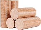 Holzbriketts für die ATMOS RS Holzbriekettvergaser