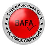 BAFA 5500 € Förderung für ATMOS GSP Kombikessel
