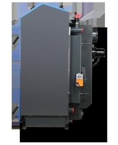 ATMOS GSE Holzvergaser (DC18GSE, DC22GSE, DC25GSE, DC30GSE, DC40GSE, DC50GSE) - Bemassng seitlich