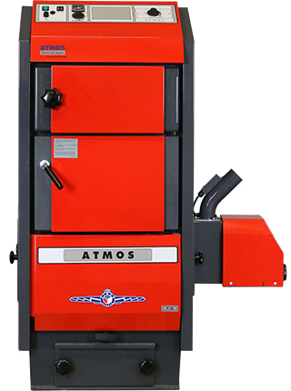 ATMOS Pelletkessel mit Holznotbetrieb - P15 - P20 - P30 - P40 - P50 - Modell 2016/2017