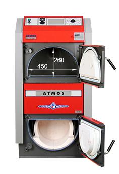 ATMOS GS Holzvergaser Serie (GS20, GS25, GS32, GS40) - Bemassung 3