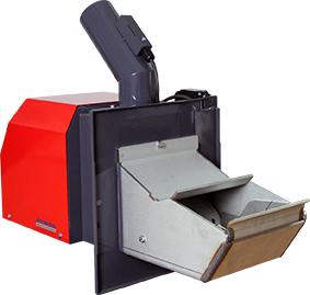 ATMOS Pelletbrenner A25, A25GSP, A45 und A85 - Frontbild