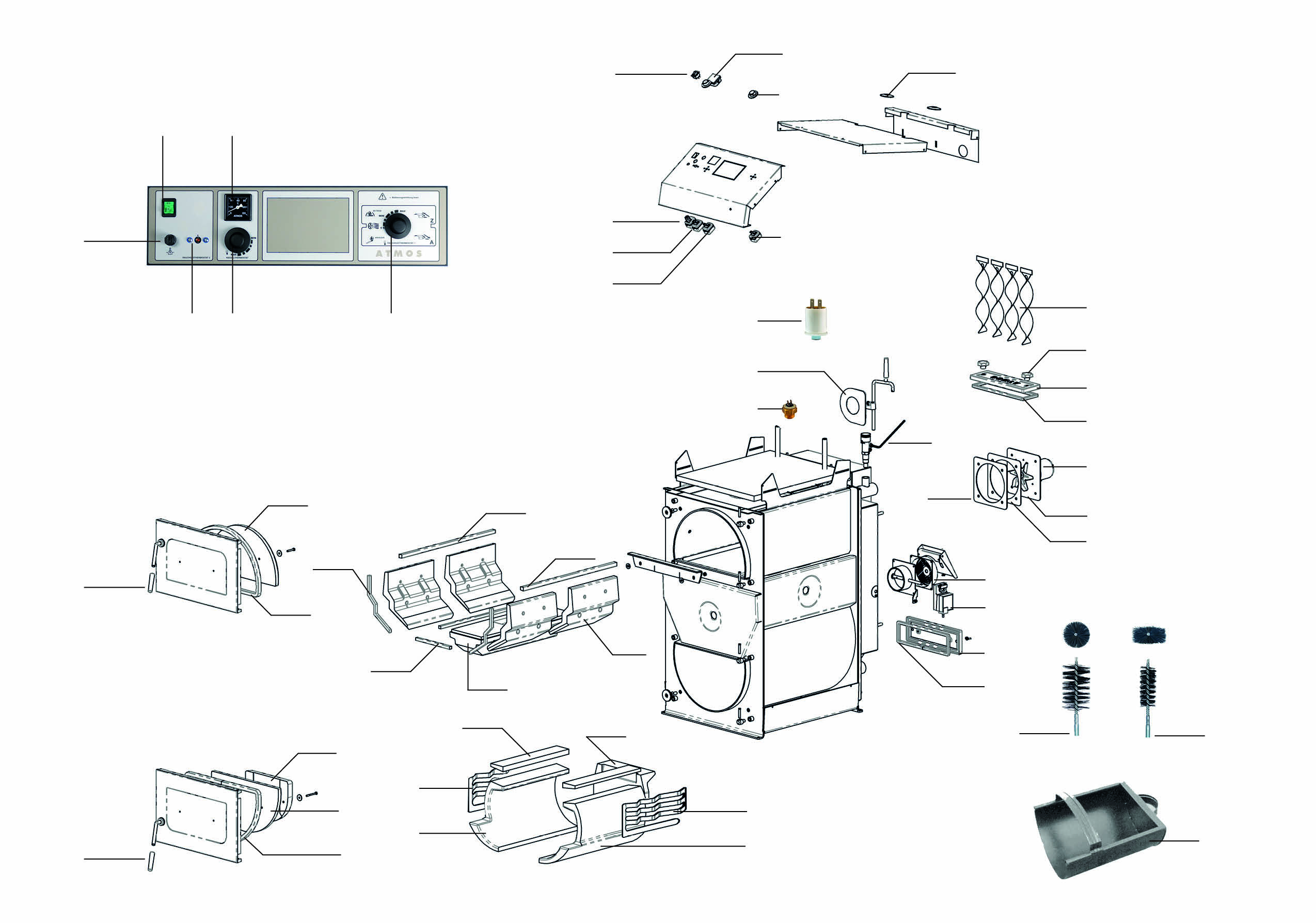 dedietrich cbi ersatzteile atmos zentrallager gmbh. Black Bedroom Furniture Sets. Home Design Ideas
