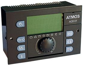 ATMOS ACD01 Regelung