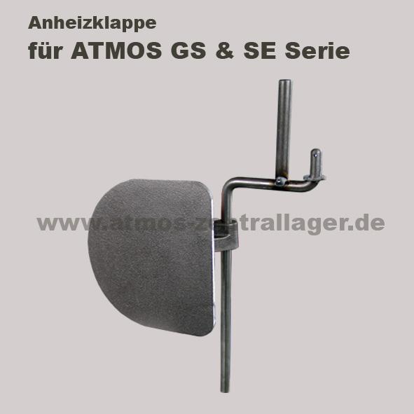 Anheizklappe für ATMOS Holzvergaser