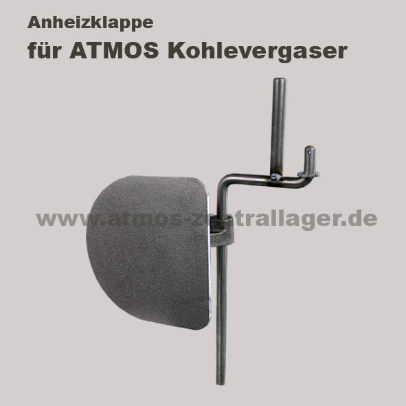 Anheizklappe für ATMOS KC Kohlevergaser