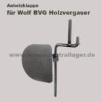 Anheizklappe für Wolf BVG Holzvergaser