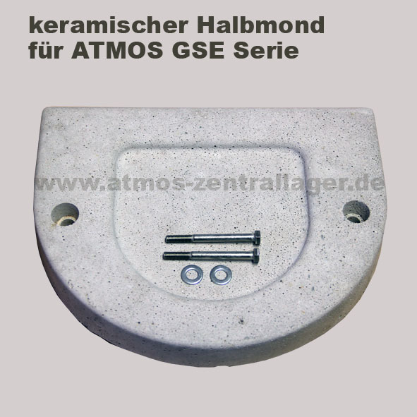 keramischer Halbmond für ATMOS Heizkessel