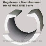 Kugelraum für ATMOS GSE Holzvergaser DC0085, DC0086