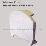 hintere Front für ATMOS GSE Holzvergaser