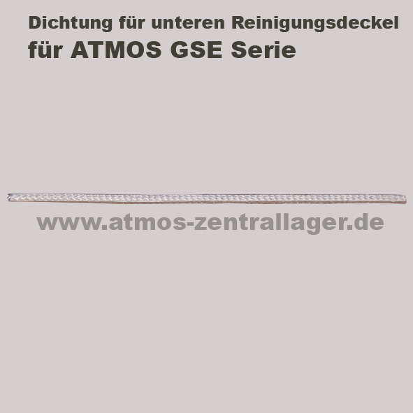 Dichtung des oberern Reinigungsdeckels für ATMOS GSE Holzvergaser