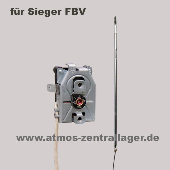 ATMOS Rauchgasthermostat 2 – S0020 für Sieger FBV Holzvergaser