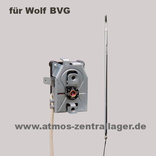 ATMOS Rauchgasthermostat 2 – S0020 für Wolf BVG