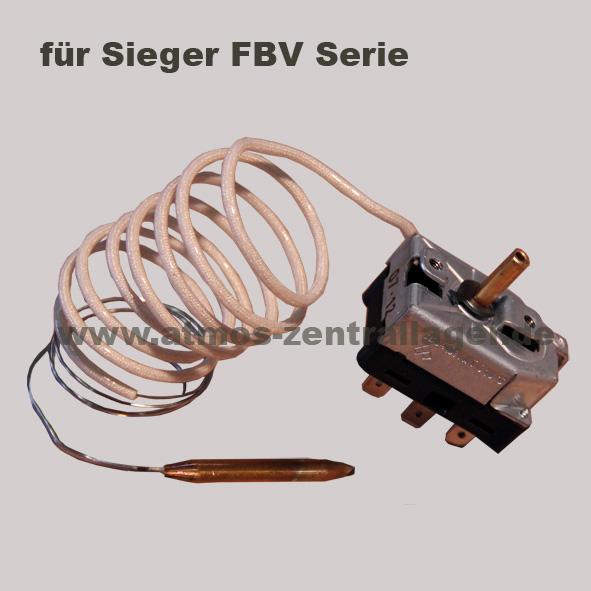 Kesselthermostat S0021 für SIEGER FBV Holzvergaser