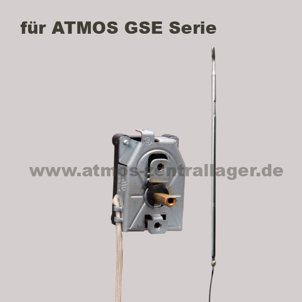 Rauchgasthermostat für ATMOS Holzvergaser