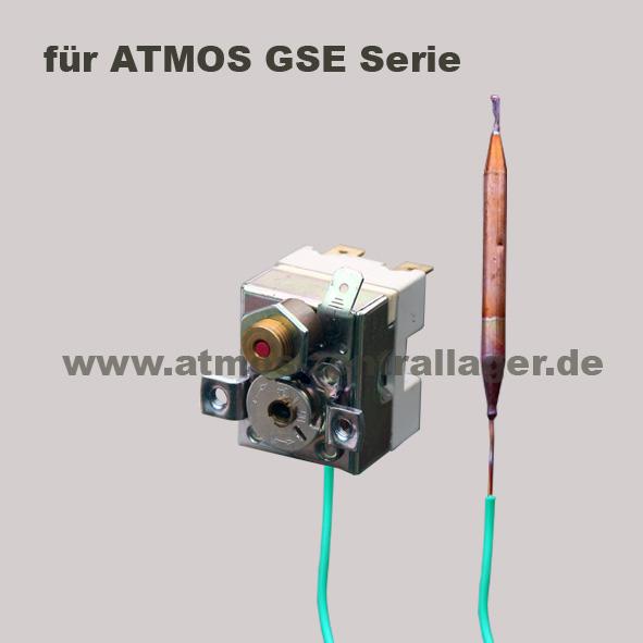 Sicherheitsthermostat S0061 für ATMOS Holzvergaser