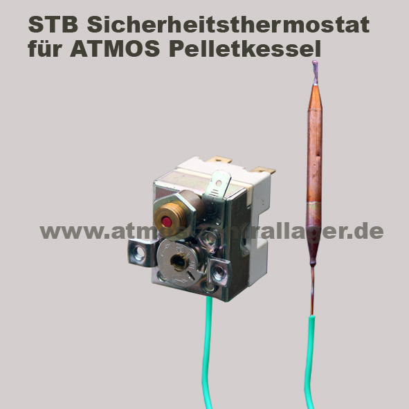 Sicherheitsthermostat S0068 für ATMOS Pelletkessel
