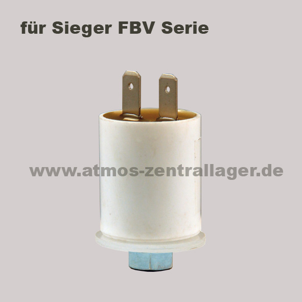 Kondensator für Lüftermotor der Sieger FBV