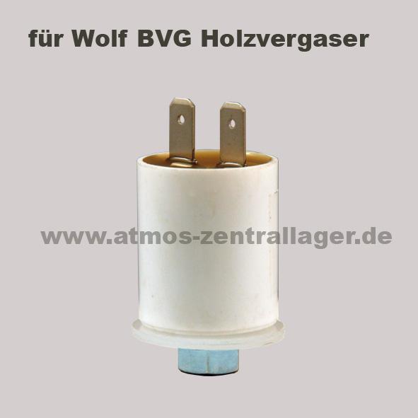 Kondensator für Lüftermotor der Wolf BVG Holzvergaser