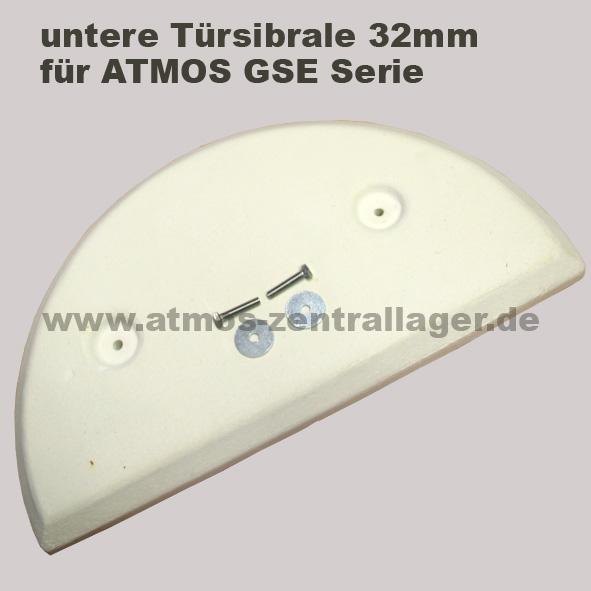 untere Türsibrale 32mm für ATMOS GSE Holzvergaser