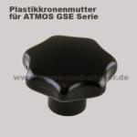 Plastik Kronenmutter für ATMOS GSE Holzvergaser