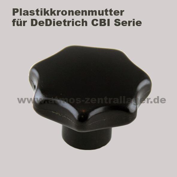Plastikkronenmutter für DeDietrich CBI Holzvergaser