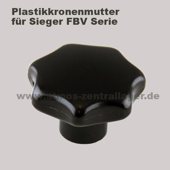 Plastikkronenmutter für Sieger FBV Holzvergaser