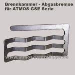 Abgasbremse für ATMOS GSE Holzvergaser