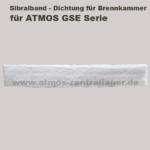 Sibralband der Brennkammer für ATMOS GSE Holzvergaser