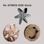 Lüfterrad für ATMOS GSE Holzvergaser
