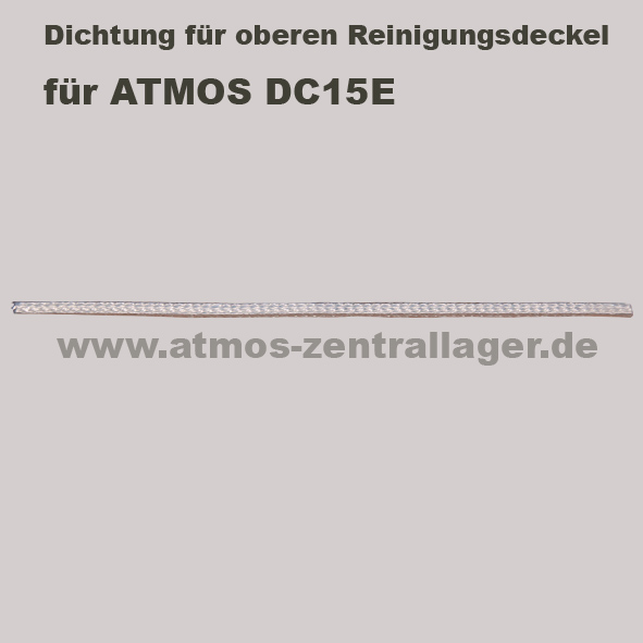 Dichtung für oberern Reinigungsdeckel für ATMOS DC15E