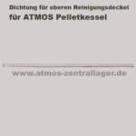 Dichtung für oberen Reinigungsdeckel für ATMOS DP