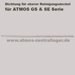 Dichtung für oberen Reinigungsdeckel für ATMOS GS / Dichtung für oberen Reinigungsdeckel für ATMOS SE