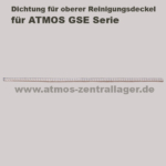 Dichtung für oberen Reinigungsdeckel für ATMOS GSE Holzvergaser
