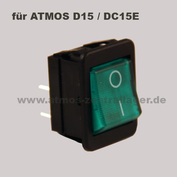Hauptschalter S0091 für ATMOS DC15E