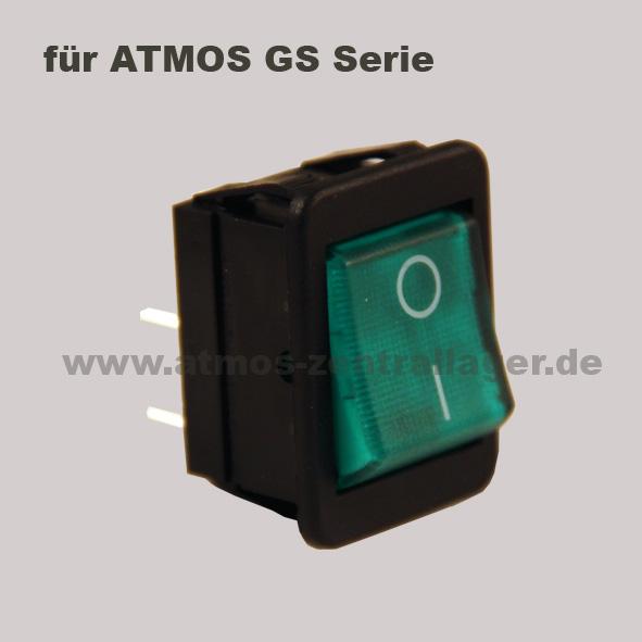 Hauptschalter S0091 für ATMOS GS Holzvergaser