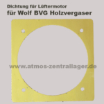 harte Lüfterdichtung für Wolf BVG Holzvergaser