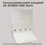 Feuerraum Seitenwand für ATMOS GSE Holzvergaser
