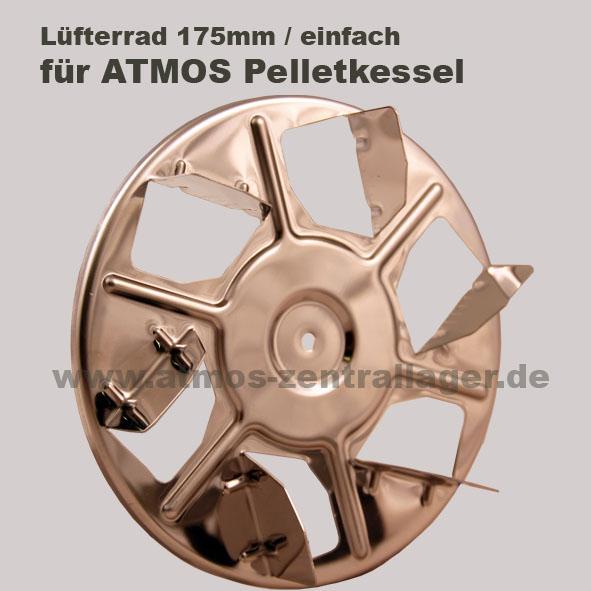 ATMOS Lüfterrad 175mm für Pelletkessel