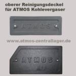 obere Reinigungsdeckel für ATMOS KC Kohlevergaser