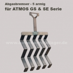Abgasbremser für ATMOS GS / Abgasbremser für ATMOS SE