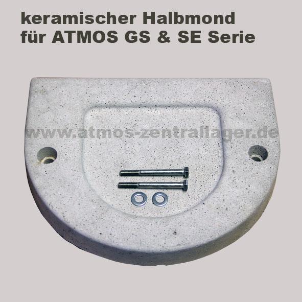 keramischer Halbmond für ATMOS Holzvergaser