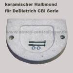 Halbmond Türblende für DeDietrich CBI