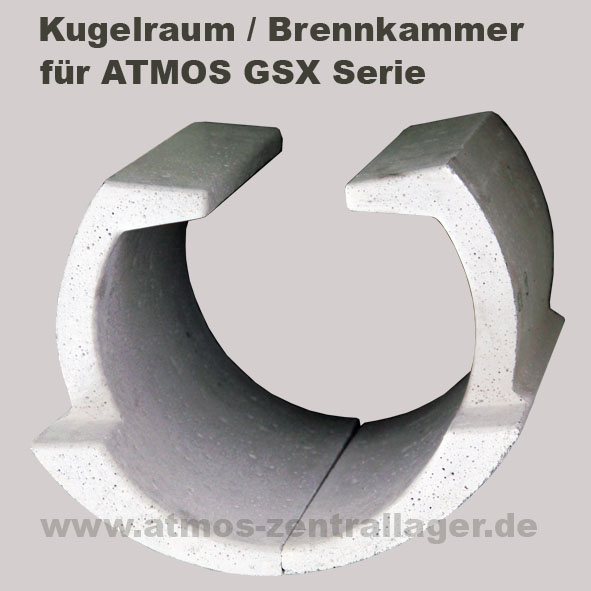 Kugelraum – Brennkammer für ATMOS Holzvergaser