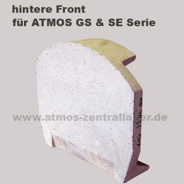 hintere Front für ATMOS Holzvergaser