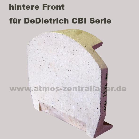 hintere Front für DeDietrich Holzvergaser