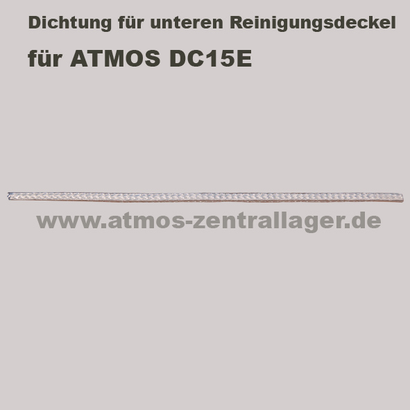 Dichtung für unteren Reinigungsdeckel für ATMOS DC15E