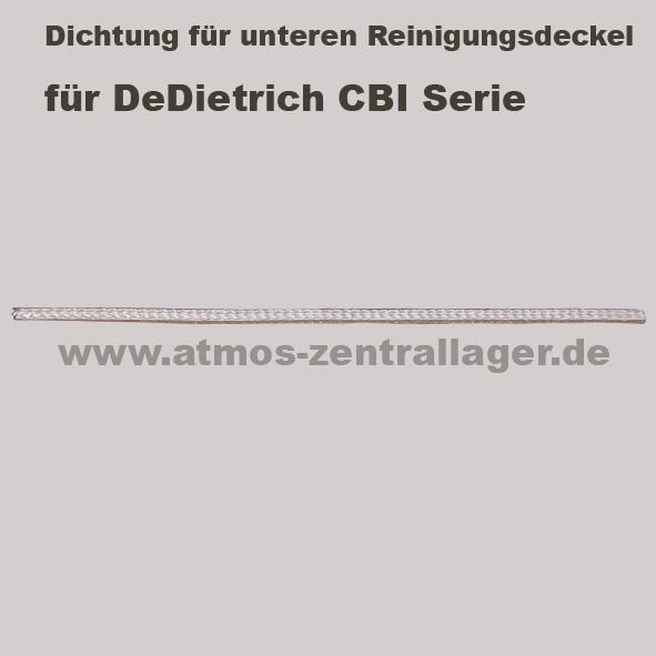 Dichtung für oberern Reinigungsdeckel für DeDietrich CBI Holzvergaser
