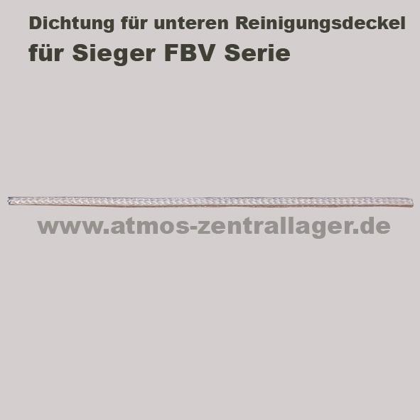 Dichtung für oberern Reinigungsdeckel für Sieger FBV Holzvergaser